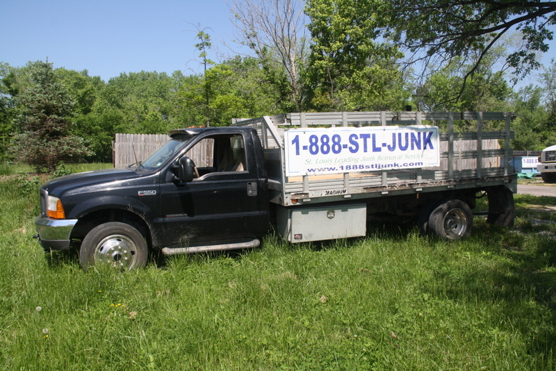 Black Stakebed Truck Photo 2