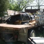 White Dump Truck photo 2