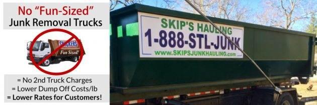Make Room For Christmas Stuff, Call Skips!